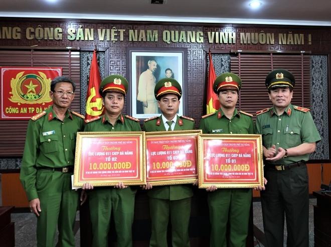 UBND TP Đà Nẵng thưởng lực lượng 911