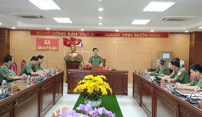 Biểu dương Công an Đà Nẵng và Bệnh viện 199 về phòng chống dịch