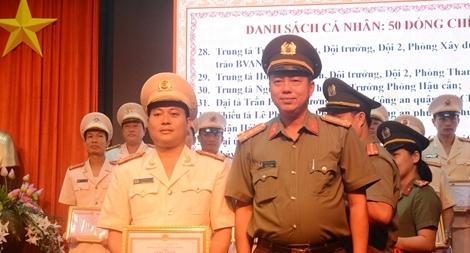 TP Đà Nẵng biểu dương điển hình tiên tiến trong phong trào thi đua Vì ANTQ