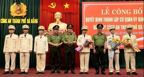 Thành lập Cơ quan UBKT Đảng ủy Công an TP Đà Nẵng