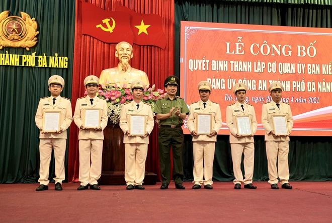 Thành lập Cơ quan UBKT Đảng ủy Công an TP Đà Nẵng - Ảnh minh hoạ 3