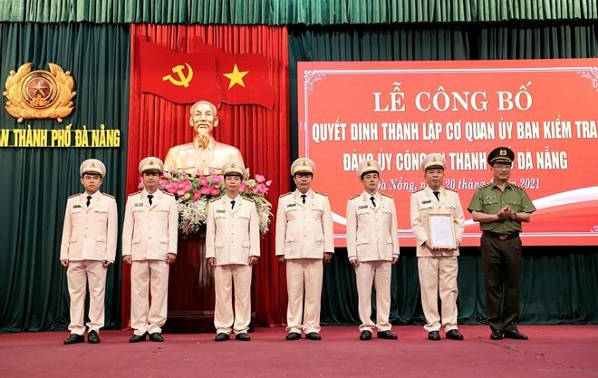 Thành lập Cơ quan UBKT Đảng ủy Công an TP Đà Nẵng - Ảnh minh hoạ 2