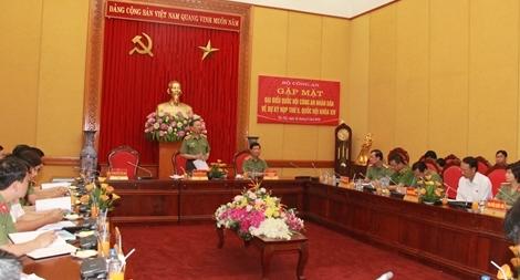 Bộ Công an gặp mặt các đại biểu Quốc hội CAND