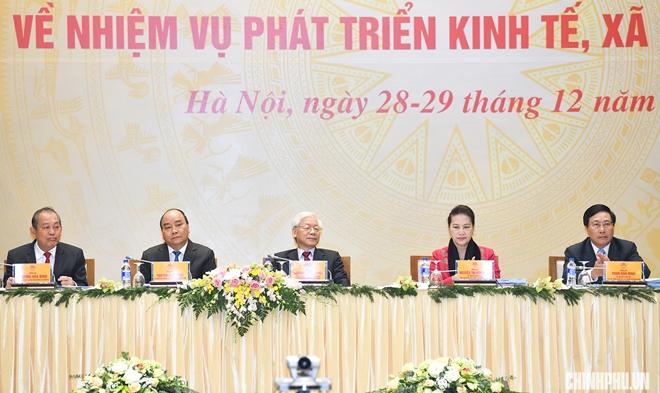 Lãnh đạo Đảng, Nhà nước dự Hội nghị