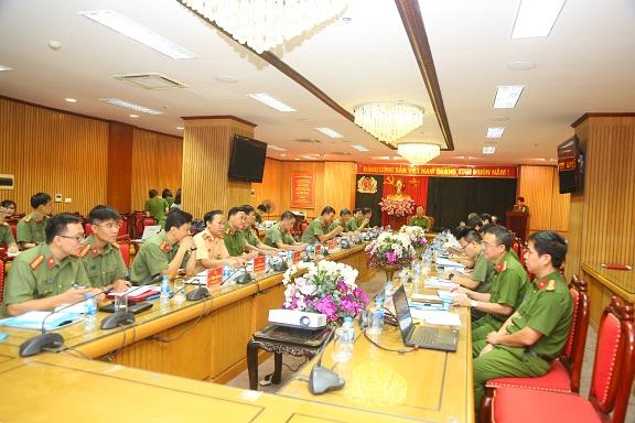 Ban Tổ chức Hội nghị ASEANAPOL 39 họp  lần thứ 2 bàn công tác chuẩn bị