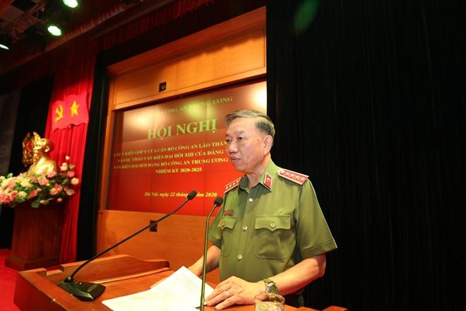 Cán bộ Công an lão thành đóng góp ý kiến vào dự thảo Văn kiện Đại hội Đảng bộ Công an Trung ương lần thứ VII - Ảnh minh hoạ 2
