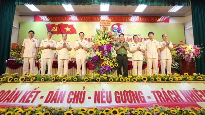 Thứ trưởng Bùi Văn Nam dự Đại hội Đảng bộ Công an tỉnh Bắc Giang