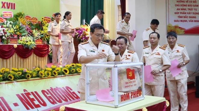 Thứ trưởng Bùi Văn Nam dự Đại hội Đảng bộ Công an tỉnh Bắc Giang - Ảnh minh hoạ 3