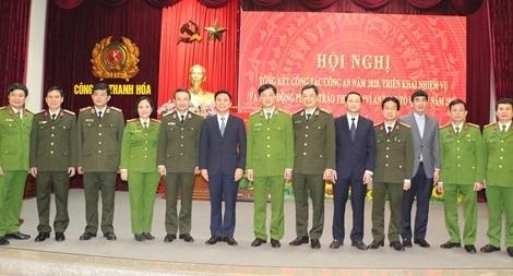 Công an Thanh Hoá triển khai công tác Công an năm 2021