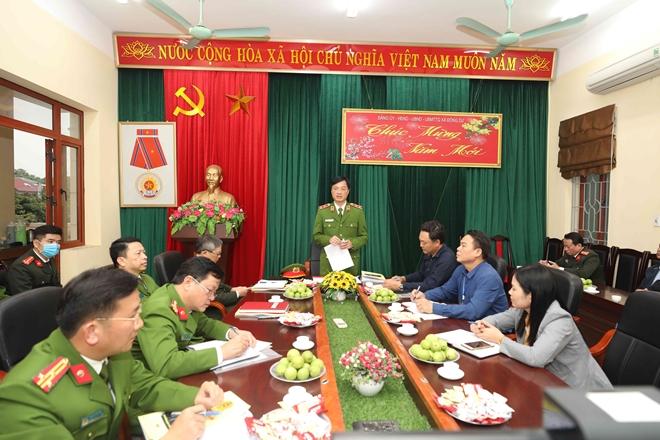 Thứ trưởng Nguyễn Duy Ngọc kiểm tra công tác ứng trực bảo vệ Tết - Ảnh minh hoạ 5