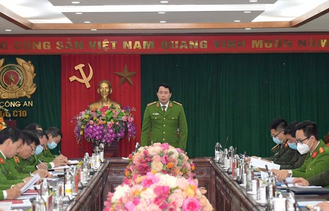 Thứ trưởng Lê Quốc Hùng làm việc về công tác đảm bảo an toàn các cơ sở giam giữ