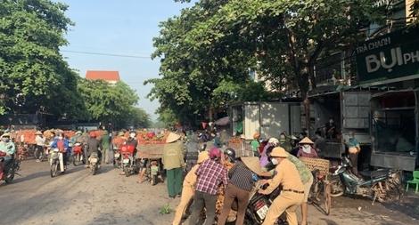 CSGT Bắc Giang: Đội nắng, vượt mưa vừa chống dịch vừa bảo đảm ATGT