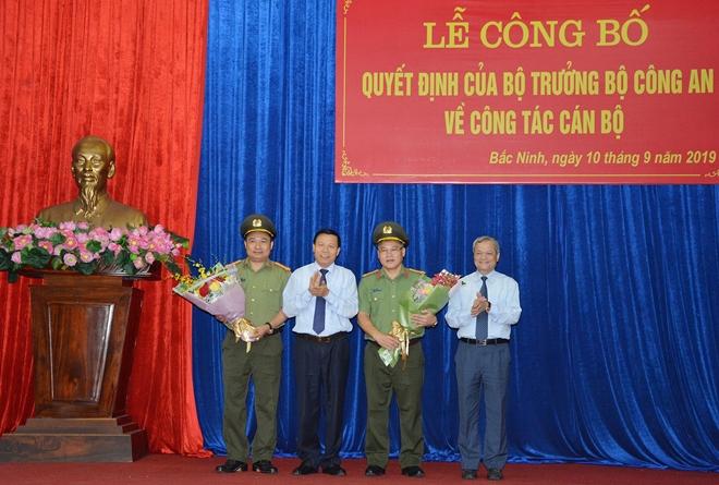 Công bố quyết định nhân sự Cục trưởng Cục Cảnh sát kinh tế