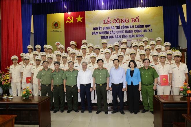 Bắc Ninh điều động 202 cán bộ CA chính quy đảm nhiệm chức danh CA  xã