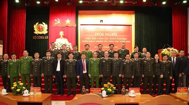 Xây dựng đội ngũ cán bộ Công an các cấp, gắn trách nhiệm người đứng đầu