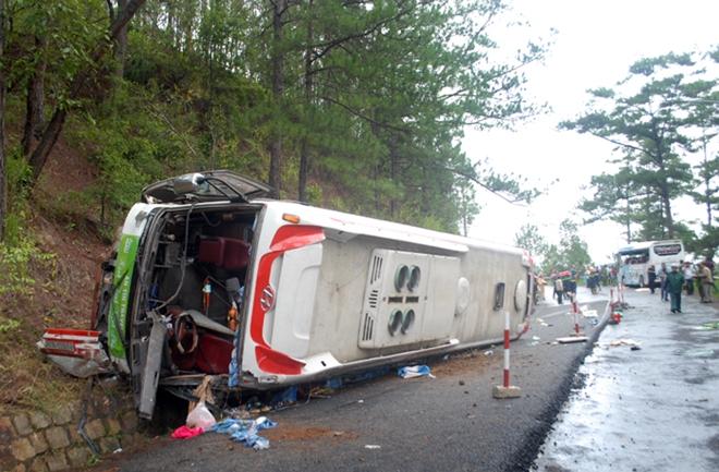 Vụ tai nạn kinh hoàng trên đèo Prenn qua lời kể của công nhân thoát nạn