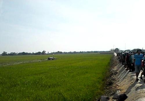 Máy bay huấn luyện rơi ở Phú Yên, 1 phi công tử vong