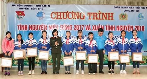 Mùa đông tình nguyện ở huyện Yên Thế