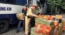 CSGT Quảng Ninh bắt giữ xe chở 2 tấn trái cây nhập lậu