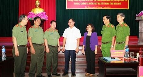 Hà Nam đẩy mạnh phòng chống ma túy trong tình hình mới