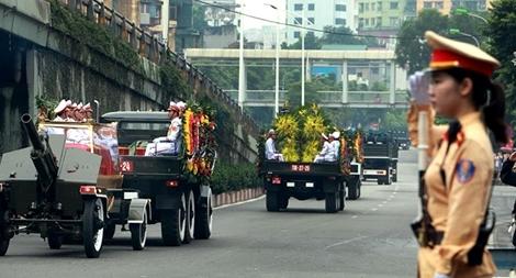 Công an Hà Nội đảm bảo an ninh trong ngày Quốc tang1