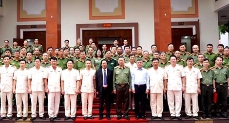 Bộ trưởng Tô Lâm làm việc tại Công an Hải Phòng