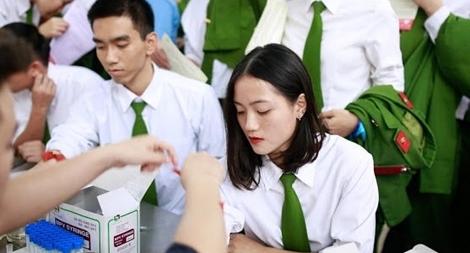 Học viện CSND tình nguyện hiến hơn 1.200 đơn vị máu