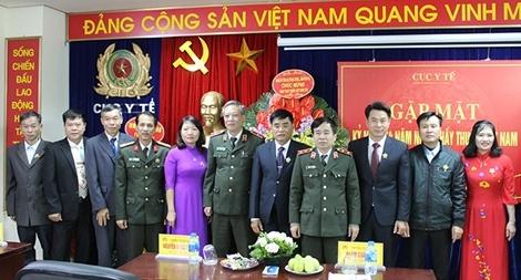 Cục Y tế gặp mặt kỷ niệm 64 năm Ngày Thầy thuốc Việt Nam