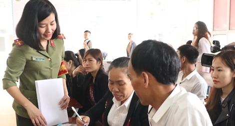 Bộ Công an đo lường sự hài lòng của người dân khi giải quyết thủ tục hành chính