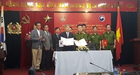 Tăng cường hợp tác khoa học hình sự giữa Việt Nam và Hàn Quốc