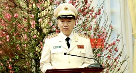 Thư chúc mừng năm mới 2020 của Đại tướng Tô Lâm