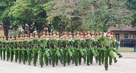Lực lượng CAND quyết tâm phấn đấu hoàn thành xuất sắc nhiệm vụ năm 2020