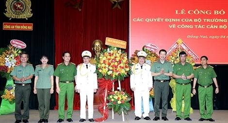 Công an tỉnh Đồng Nai có hai Phó Giám đốc mới