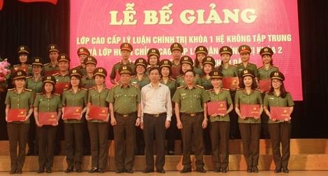 Trao bằng tốt nghiệp Cao cấp lý luận chính trị cho 188 học viên