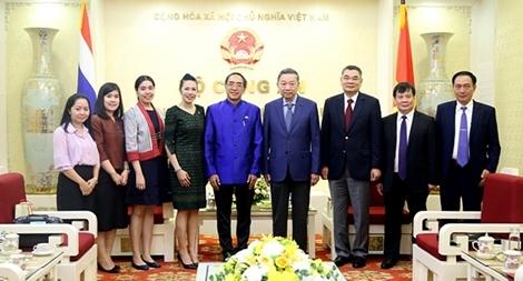 Thúc đẩy quan hệ hợp tác Bộ Công an Việt Nam và các cơ quan thực thi pháp luật Thái Lan