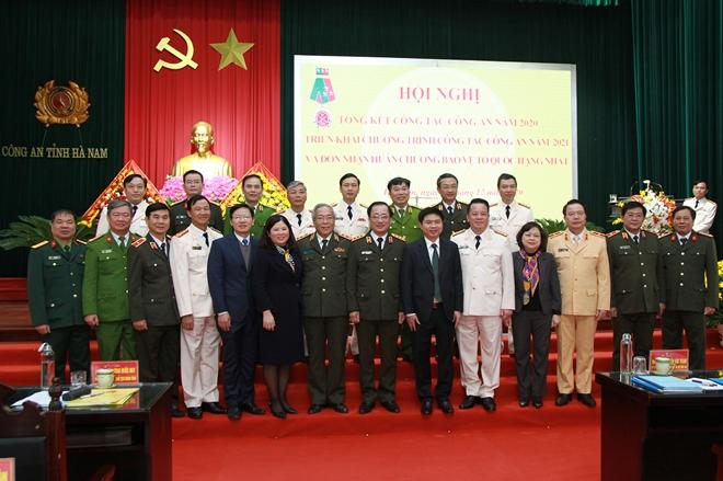 Công an tỉnh Hà Nam triển khai công tác năm 2021 - Ảnh minh hoạ 4