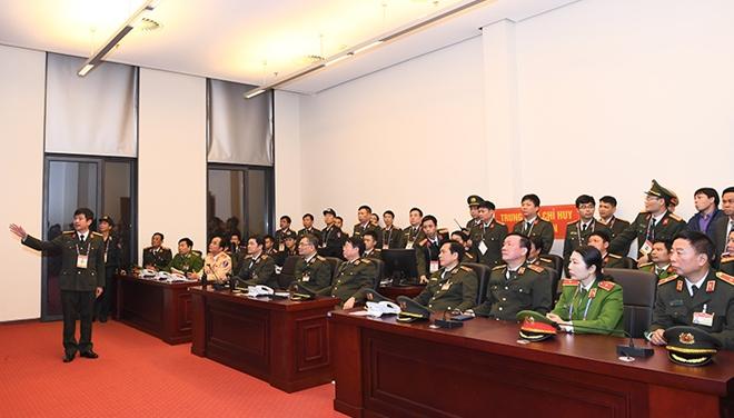 Thứ trưởng Bùi Văn Nam kiểm tra công tác đảm bảo an ninh, an toàn Đại hội XIII của Đảng - Ảnh minh hoạ 4