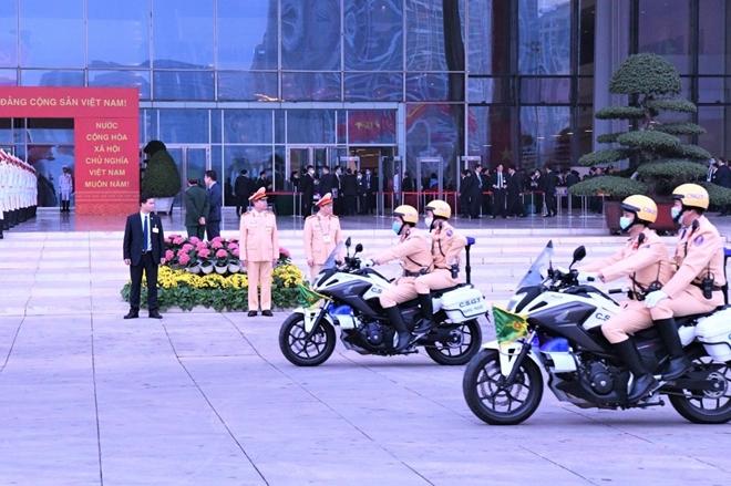 Chuyện bảo vệ an ninh, trật tự ở nơi tổ chức Đại hội XIII của Đảng - Ảnh minh hoạ 8