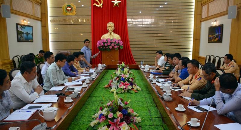 Khảo sát công tác đảm bảo an ninh diễn đàn Du lịch ASEAN năm 2019 tại Quảng Ninh