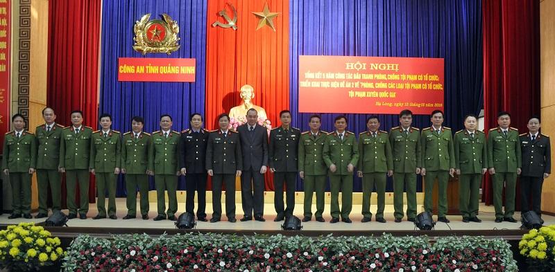Quảng Ninh đấu tranh mạnh với tội phạm có tổ chức
