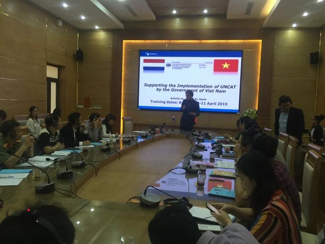 Tập huấn Công ước của Liên hợp quốc về chống tra tấn - Ảnh minh hoạ 2