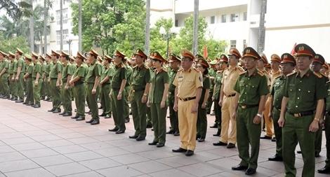 Công an Quảng Ninh phát động phong trào thi đua đặc biệt