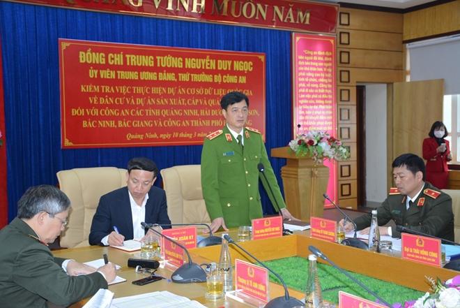 Thứ trưởng Nguyễn Duy Ngọc kiểm tra công tác của Công an 6 tỉnh, thành - Ảnh minh hoạ 2