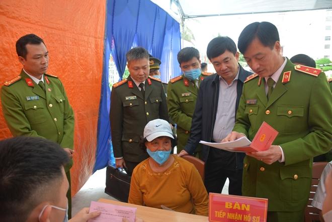 Thứ trưởng Nguyễn Duy Ngọc kiểm tra công tác của Công an 6 tỉnh, thành - Ảnh minh hoạ 4
