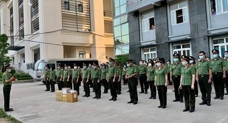 Bệnh viện Y học cổ truyền Bộ Công an: 51 bác sĩ, nhân viên y tế chi viện Bắc Giang