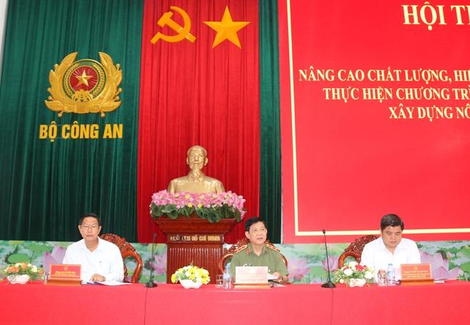 Thứ trưởng Nguyễn Văn Sơn thăm và làm việc tại TP Cần Thơ
