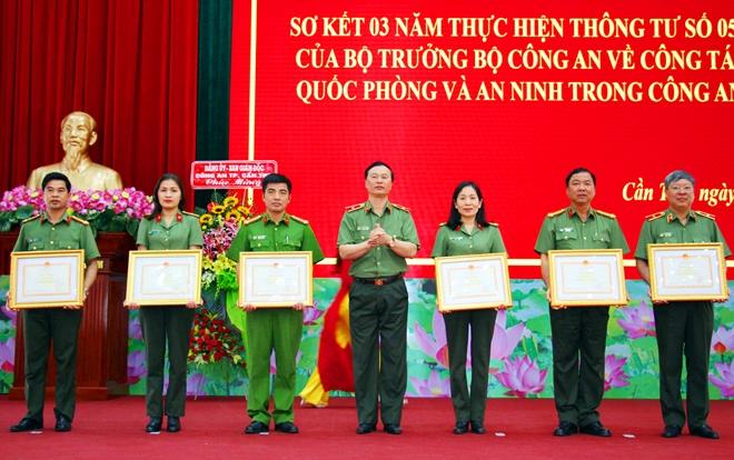 Hội nghị sơ kết công tác giáo dục Quốc phòng và An ninh trong CAND - Ảnh minh hoạ 3
