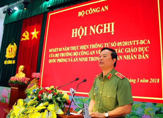 Hội nghị sơ kết công tác giáo dục Quốc phòng và An ninh trong CAND - Ảnh minh hoạ 2