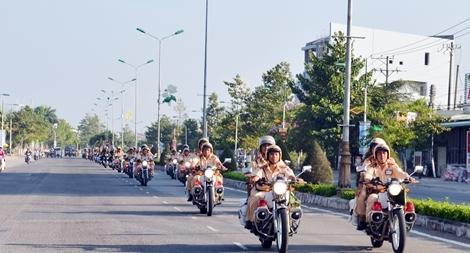 Công an tỉnh Bến Tre ra quân cao điểm đảm bảo an toàn dịp lễ 30-4 và 1-5