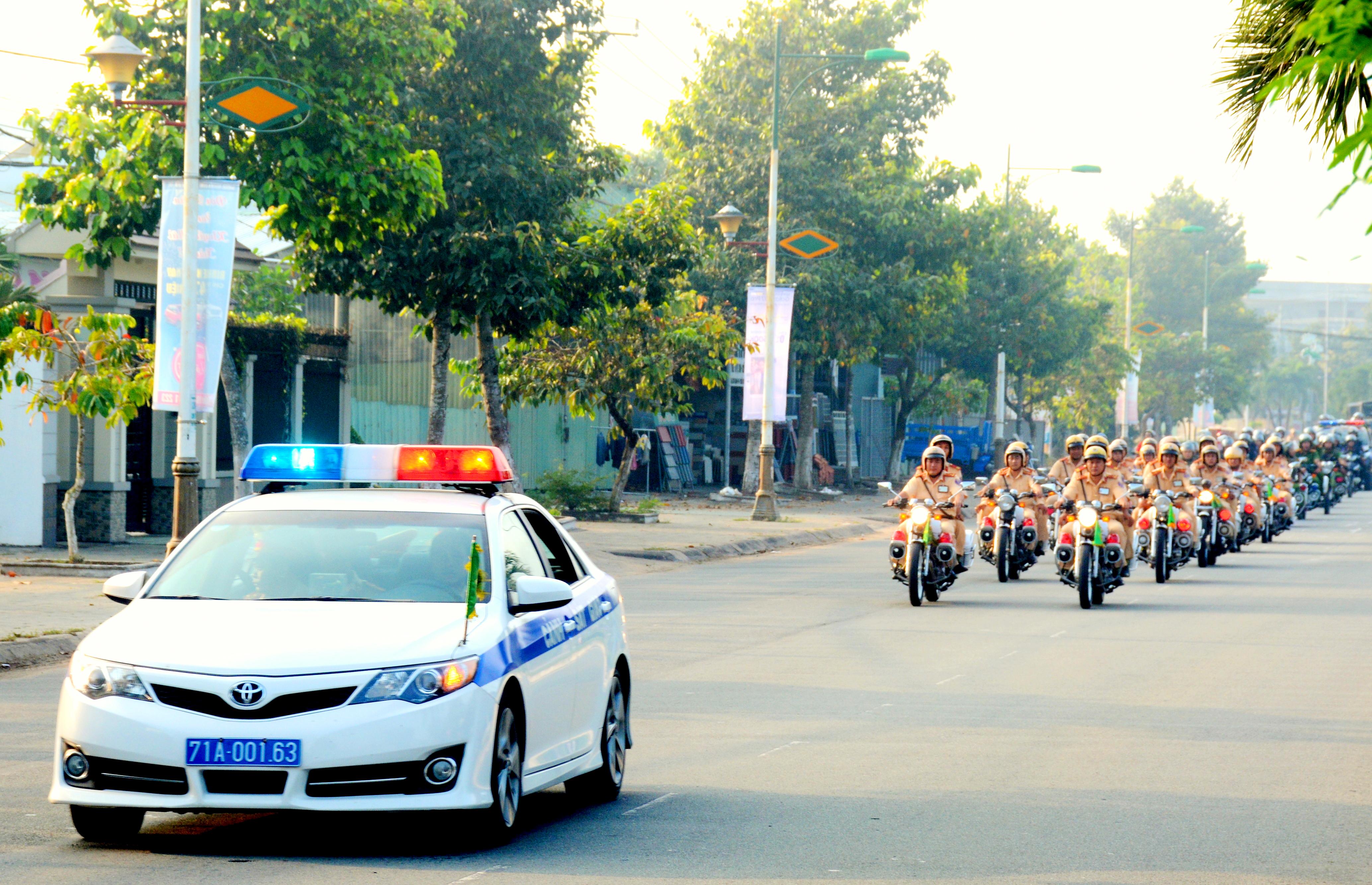 Chủ động đảm bảo ANTT tại Lễ hội Dừa tỉnh Bến Tre